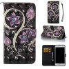 Peacock Flower 3D Painted Pu Phone Case for Iphone 6S Plus 6 Plus - COLORMIX