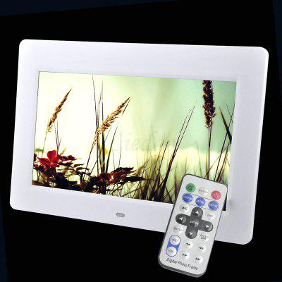 10.1 inch LED Backlight HD 1024 x 600 Digital Photo Frame Electronic Album Mp3 Mp4 Full Function