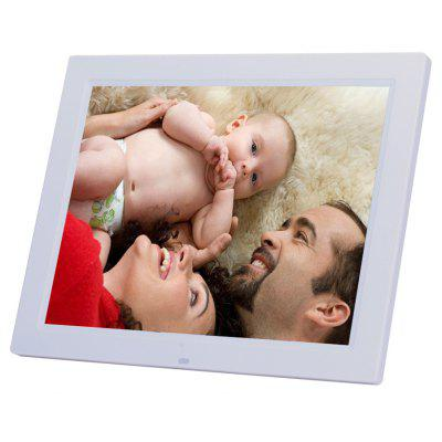 15 Inch LED Backlight HD 1024 x 768 Digital Photo Frame Electronic Album MP3 MP4 Full Function
