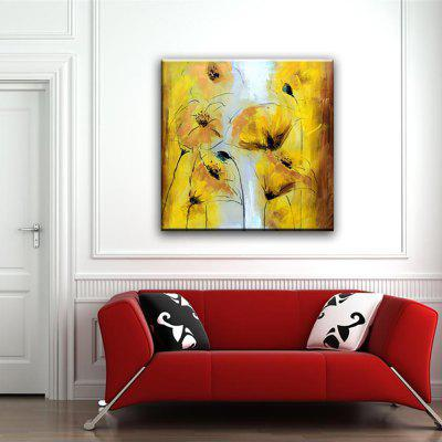 YHHP Hand Painted flowers Decoration Canvas Oil Painting
