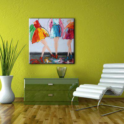 YHHP Hand Painted Abstract Art Decoration Canvas Oil Painting