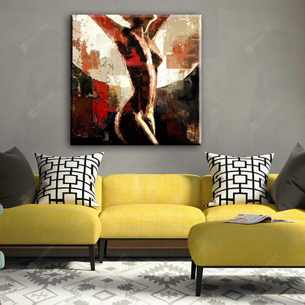 YHHP Hand Painted Abstract Art Naked Women decoration Canvas Oil ...