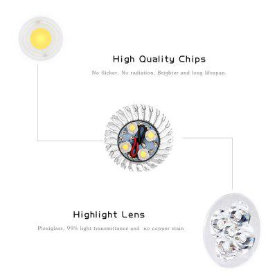 Supli 10 Pcs 5W Gu10 Led Spotlight 4 Cob 500 Lm Warm White / Cool White Dimmable Ac 220 - 240Spot Bulbs<br>Supli 10 Pcs 5W Gu10 Led Spotlight 4 Cob 500 Lm Warm White / Cool White Dimmable Ac 220 - 240<br><br>Color Temperature or Wavelength: 3000K 6000K<br>Connection: GU10<br>Dimmable: Yes<br>Initial Lumens ( lm ): 500<br>LED Beam Angle: 180 Degree<br>Lifetime ( h ): More Than  30000<br>Light Source Color: White,Warm White<br>Material: Aluminum Alloy<br>Package Contents: 10 x Gu10 Bulb<br>Package size (L x W x H): 25.00 x 10.00 x 6.50 cm / 9.84 x 3.94 x 2.56 inches<br>Package weight: 0.2100 kg<br>Primary Application: Home or Office,Children Room,Living Room or Dining Room,Hallway or Stairwell,Storage Room or Utility Room,Everyday Use<br>Product size (L x W x H): 4.90 x 4.90 x 6.00 cm / 1.93 x 1.93 x 2.36 inches<br>Quantity: 10pcs<br>Type: LED Spotlight<br>Voltage: AC220 - 240V<br>Wattage: 5W