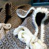Baby Hooded Cape Cute Rabbit Eras Knitted Mini Baby Poncho - CLEMENTINE