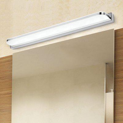 Everflower Max 12W Stainless Steel And Acrylic Modern Fashion Led Wall Sconces Mirror Front Light