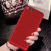 Fashion Ultra-Thin Breathable Cooling Mesh Hard Phone Cover for Xiaomi 6 - BLACK