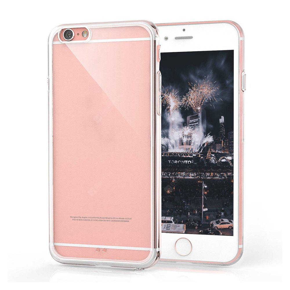 Ultrathin Shock-absorption Bumper TPU Clear Case for iPhone 6 / 6S