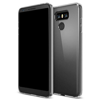 Ultrathin Shock-absorption Bumper TPU Clear Case for LG G6