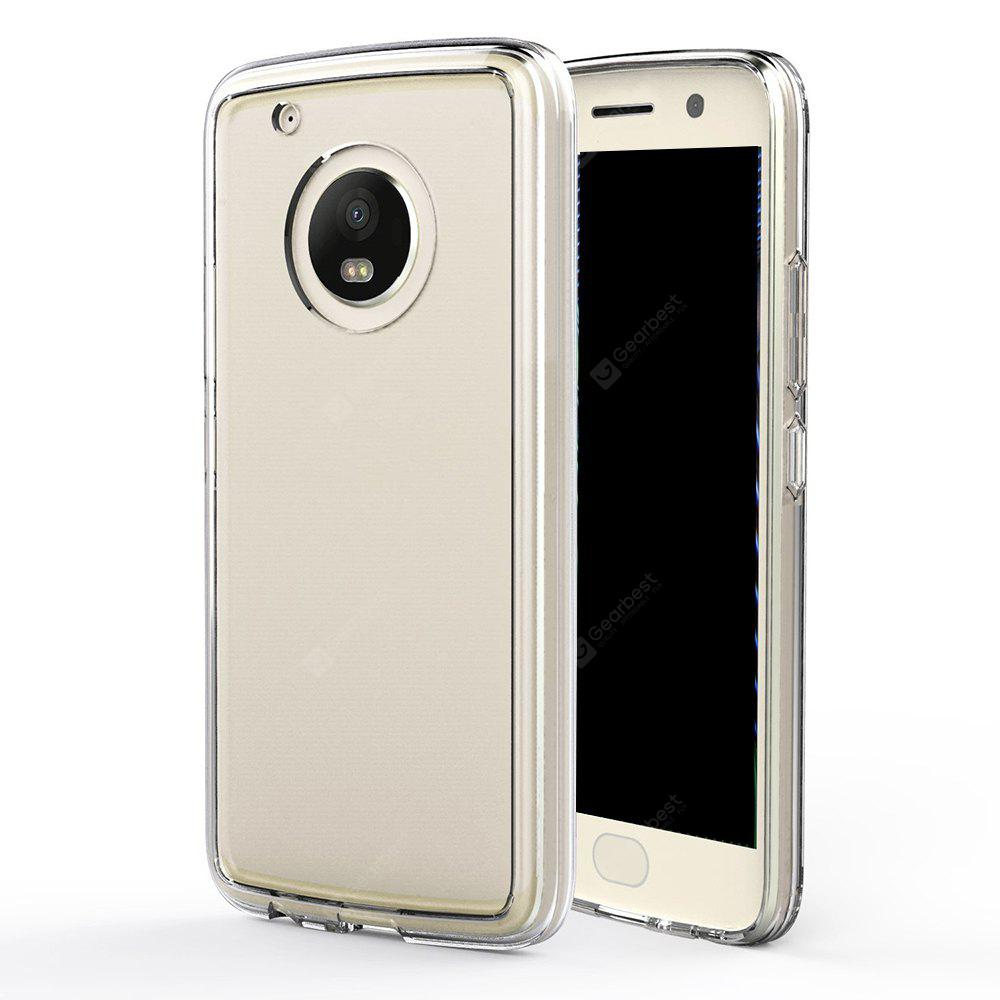 Ultrathin Shock-absorption Bumper TPU Clear Case for Moto G5