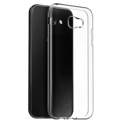 Ultrathin Shock-absorption Bumper TPU Clear Case for Samsung Galaxy A7 2017