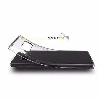 Ultrathin Shock-absorption Bumper Tpu Clear Case for Samsung Galaxy Note 8Samsung Note Series<br>Ultrathin Shock-absorption Bumper Tpu Clear Case for Samsung Galaxy Note 8<br><br>Features: Anti-knock<br>Material: TPU<br>Package Contents: 1 x Phone Case<br>Package size (L x W x H): 18.00 x 13.00 x 3.00 cm / 7.09 x 5.12 x 1.18 inches<br>Package weight: 0.0200 kg<br>Product size (L x W x H): 16.40 x 7.60 x 1.00 cm / 6.46 x 2.99 x 0.39 inches<br>Style: Transparent