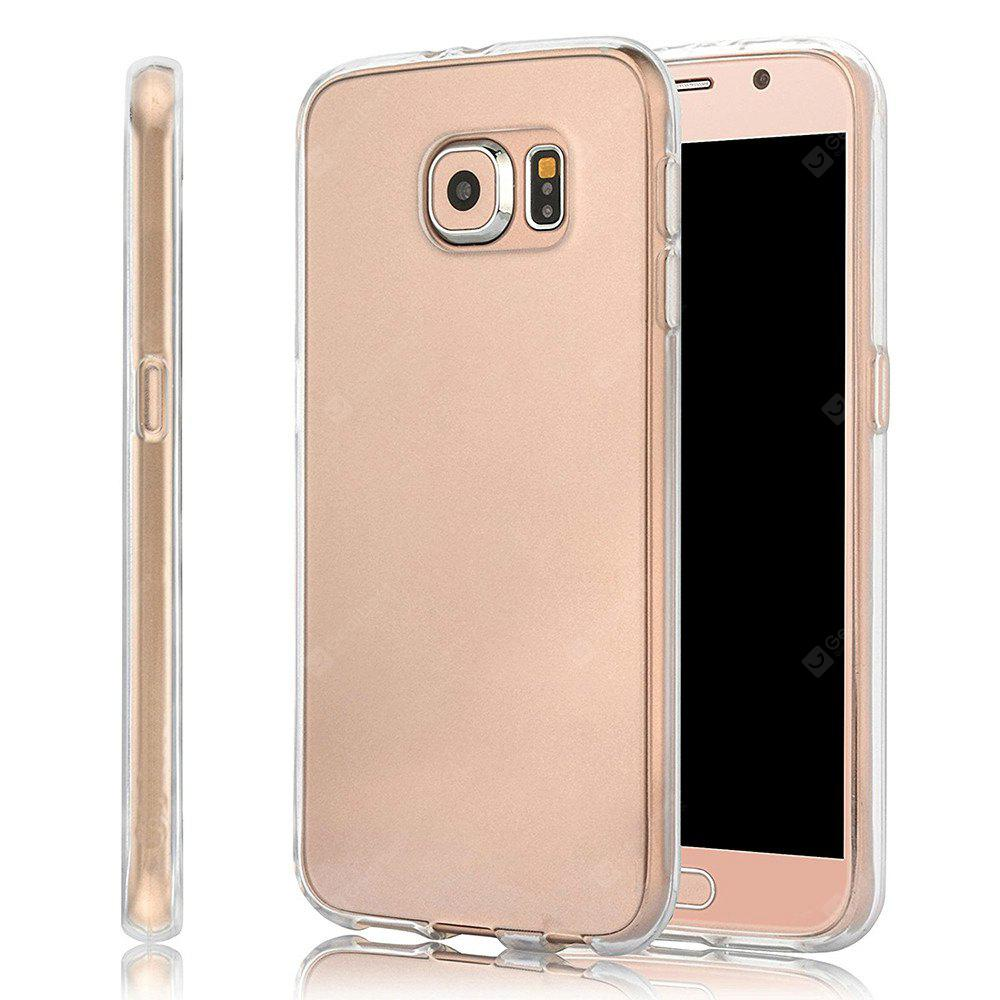 Ultrathin Shock-absorption Bumper TPU Clear Case for Samsung Galaxy S6