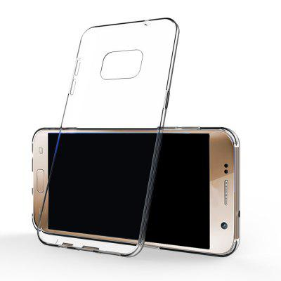 Ultrathin Shock-absorption Bumper TPU Clear Case for Samsung Galaxy S7Samsung S Series<br>Ultrathin Shock-absorption Bumper TPU Clear Case for Samsung Galaxy S7<br><br>Features: Anti-knock<br>Material: TPU<br>Package Contents: 1 x Phone Case<br>Package size (L x W x H): 18.00 x 13.00 x 3.00 cm / 7.09 x 5.12 x 1.18 inches<br>Package weight: 0.0200 kg<br>Style: Transparent