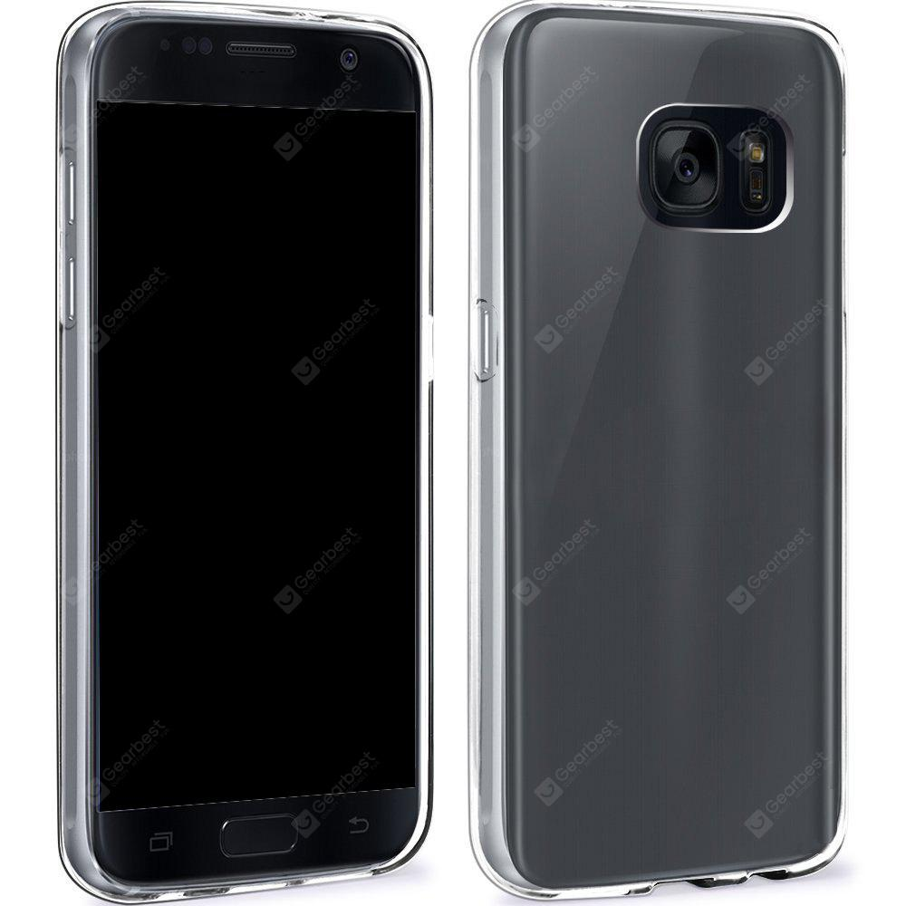 Ultrathin Shock-absorption Bumper TPU Clear Case for Samsung Galaxy S7 Edge