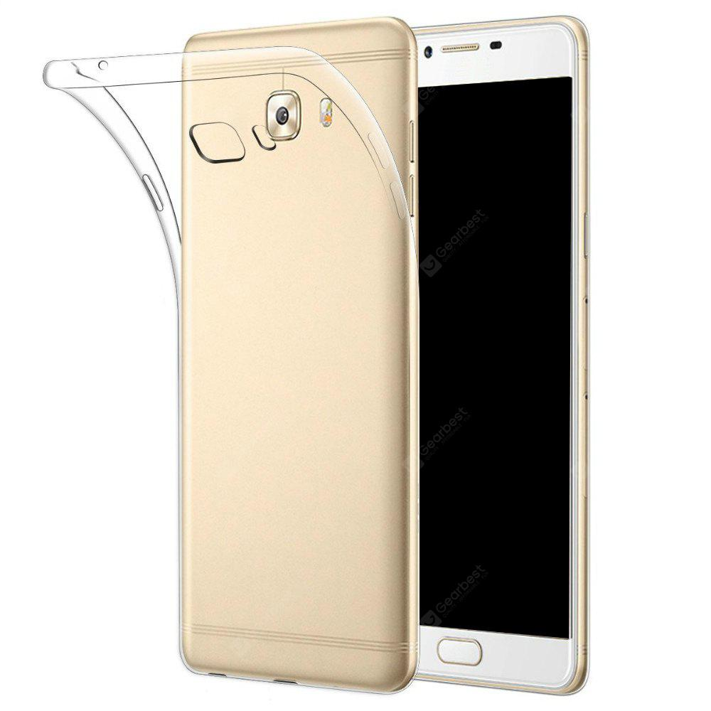 Ultrathin Shock-absorption Bumper TPU Clear Case for Samsung C9 PRO