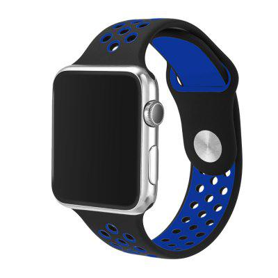 38MM Soft Silicone Replacement Band for Apple Watch Series 2/1 / Sport Edition M/L Size