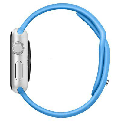 38MM Langte Silicone Apple Watch Band for Apple Watch Series 2/1 / Sport Edition M/L SizeApple Watch Bands<br>38MM Langte Silicone Apple Watch Band for Apple Watch Series 2/1 / Sport Edition M/L Size<br><br>Function: Edition,  M/L Size, for Apple Watch Series 2,  Series 1,  Sport<br>Material: Silicone, TPU<br>Package Contents: 1 X Watch Band<br>Package size: 28.70 x 5.30 x 0.60 cm / 11.3 x 2.09 x 0.24 inches<br>Package weight: 0.0220 kg