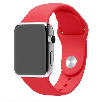 38MM Langte Siliconen Apple Watch Band voor Apple Watch Series 2/1 / Sport Edition M / L Maat