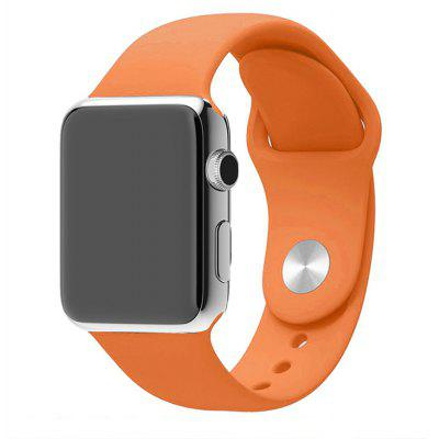 42MM Langte Silicone Watch Band for Apple Watch Series 2/1 / Sport Edition Vintagerose M/L Size