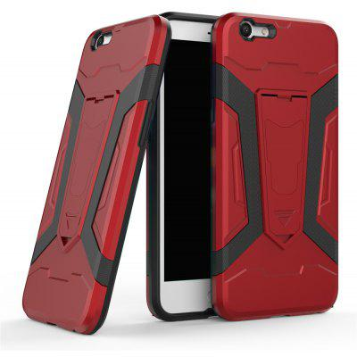 Hybrid Dual Layer Rugged Shockproof Drop Proof Hard Back Cover Pc with Slilcone Kickstand Protective Case for Oppo F1s