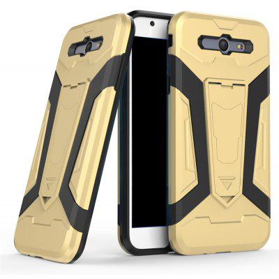 Buy Hybrid Dual Layer Rugged Shockproof Drop Proof Hard Back Cover Pc with Slilcone Kickstand Protective Case for Samsung Galaxy J7 2017, GOLDEN, Mobile Phones, Cell Phone Accessories, Samsung Accessories, Samsung J Series for $2.40 in GearBest store