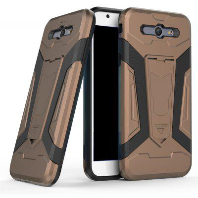 Buy Hybrid Dual Layer Rugged Shockproof Drop Proof Hard Back Cover Pc with Slilcone Kickstand Protective Case for Samsung Galaxy J7 2017, BROWN, Mobile Phones, Cell Phone Accessories, Samsung Accessories, Samsung J Series for $2.40 in GearBest store