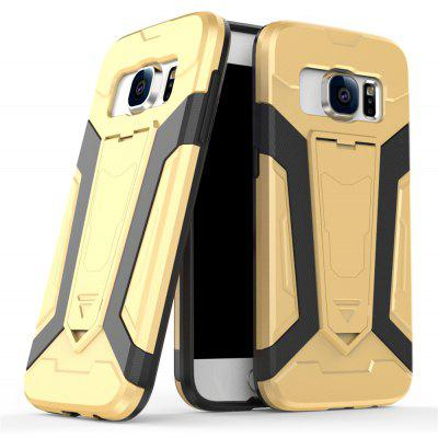 Buy Hybrid Dual Layer Rugged Shockproof Drop Proof Hard Back Cover Pc with Slilcone Kickstand Protective Case for Samsung Galaxy S7, GOLDEN, Mobile Phones, Cell Phone Accessories, Samsung Accessories, Samsung S Series for $2.18 in GearBest store