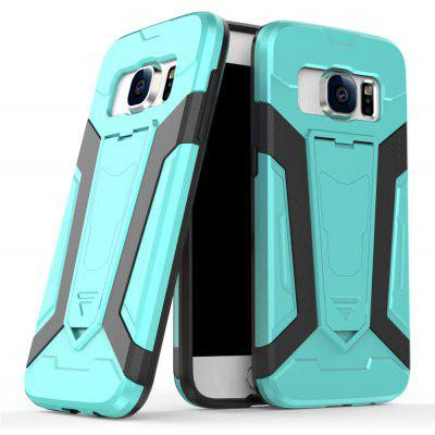 Buy Hybrid Dual Layer Rugged Shockproof Drop Proof Hard Back Cover Pc with Slilcone Kickstand Protective Case for Samsung Galaxy S7, MINT, Mobile Phones, Cell Phone Accessories, Samsung Accessories, Samsung S Series for $2.40 in GearBest store