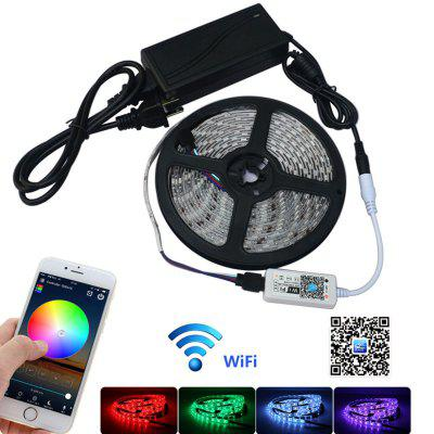 Jiawen 5m waterproof ip65 smart home wi fi rgb led strip light kit jiawen 5m waterproof ip65 smart home wi fi rgb led strip light kit aloadofball Gallery