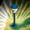 2PCS Warm White Stainless Steel Solar Lawn Light for Garden Landscape Lighting Pathway Stairway - SLIVER