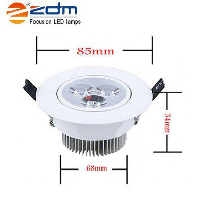 ZDM 3X2W 400-450LM LEDCeiling Lamps Warm / Cool / Natural White AC85-265VCeiling Lights<br>ZDM 3X2W 400-450LM LEDCeiling Lamps Warm / Cool / Natural White AC85-265V<br><br>Body Material: Aluminum, Aluminum<br>Brand: ZDM, ZDM<br>Emitting color: Cold White,Warm White, Cold White,Warm White<br>Hole Size: 2.5 inch, 2.5 inch<br>Is Batteries Included: No, No<br>Is Batteries Required: No, No<br>Is Bulbs Included: No, No<br>Light Source: LED Bulbs, LED Bulbs<br>Package Contents: 1 x Led Ceiling Light, 1 x Led Ceiling Light<br>Package Size(L x W x H): 9.00 x 9.00 x 7.00 cm / 3.54 x 3.54 x 2.76 inches, 9.00 x 9.00 x 7.00 cm / 3.54 x 3.54 x 2.76 inches<br>Package weight: 0.1200 kg, 0.1200 kg<br>Power Source: AC, AC<br>Product Size(L x W x H): 8.50 x 8.50 x 4.00 cm / 3.35 x 3.35 x 1.57 inches, 8.50 x 8.50 x 4.00 cm / 3.35 x 3.35 x 1.57 inches<br>Product weight: 0.0950 kg, 0.0950 kg<br>Shape: Round, Round<br>Type: Lava Lamp, Lava Lamp<br>Voltage: 90-260V, 90-260V<br>Wattage: 6-10W, 6-10W