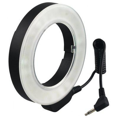 48 LED Macro Ring Continuous Light 49 67MM 6 Ens Adapter Ring for Nikon Canon