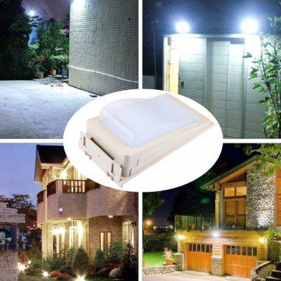 Supli 1 Set Modern Solar-Powered Led Outdoor Wall Lamp Solar Human Body Induction Lamp Aisle Lights Entrance 38LED Solar