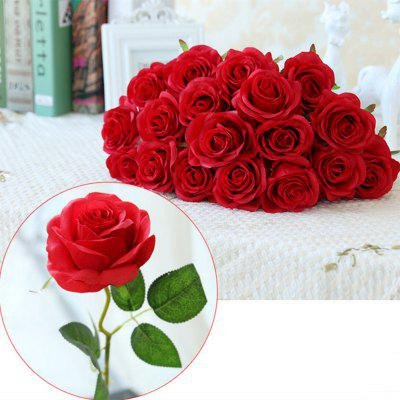 10 Branch Silk Roses Wedding Party Decoration Home Decoration Artificial Flowers