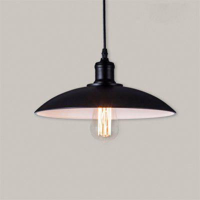 Buy BLACK Cxylight, Cxylight Retro Contracted Wrought Iron Pendant Lights Restaurant,Cafe,Game Room,Garage Light Fixturedd-010 for $54.02 in GearBest store