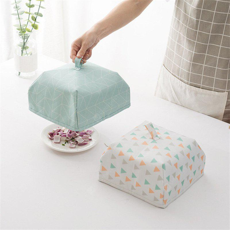 Simplicity Geometric Patterns Foldable Table Food Insulated Cover
