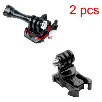 360 Degree Rotating Quick Release Tripod Mount Adapter Assembling Buckle for Gopro Hero 4 Session 4 / 3 / 2 / 1