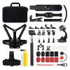 Action Camera Outdoor Sports Combo Accessories - BLACK