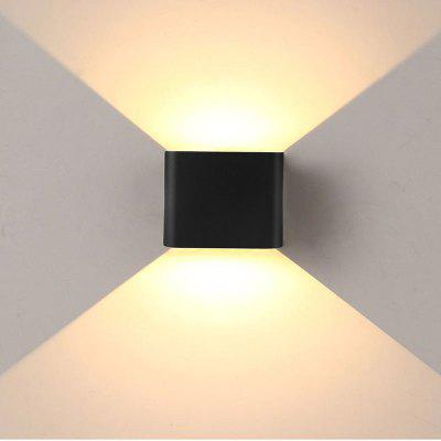 Jiawen Led Wall Lamp 6W 2835SMD Outdoor/Indoor Wall Lights Garden Lights for Living Room Corridor Decoration Lighting
