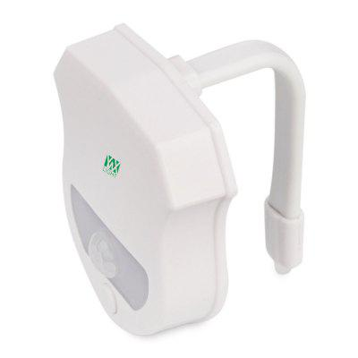 2PCS Ywxlight Ip65 Smart Bathroom Toilet Nightlight Led Seat Sensor Lamp 16 ColorNight Lights<br>2PCS Ywxlight Ip65 Smart Bathroom Toilet Nightlight Led Seat Sensor Lamp 16 Color<br><br>Feature: Human Body Induction<br>Input Voltage: DC 5V<br>Material: PC<br>Optional Light Color: RGB<br>Package Contents: 2 x Ywxlight Toilet Lights, 2 x Ywxlight English Product Manual<br>Package size (L x W x H): 10.00 x 9.50 x 7.00 cm / 3.94 x 3.74 x 2.76 inches<br>Package weight: 0.1060 kg<br>Power Supply: Battery<br>Product size (L x W x H): 7.69 x 6.60 x 1.77 cm / 3.03 x 2.6 x 0.7 inches<br>Product weight: 0.0820 kg<br>Type: Toilet Light<br>Waterproof Standard: IP65