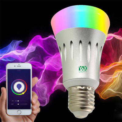 Gearbest Ywxlight E27 Wi-Fi Multicolored Led Bulbs Dimmable Smartphone Controlled Ac 85 - 265V $8.99 with Coupon 'AFFMPP11' promotion