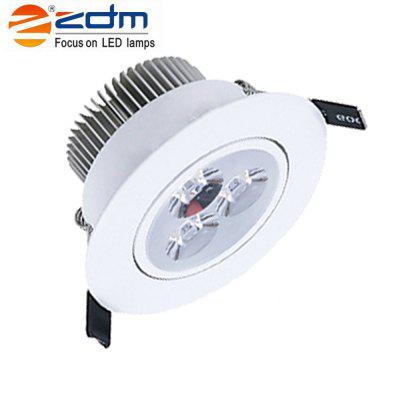 Zdm 4PCS 3X2W 400-450LM Dimmable White Led Ceiling Lamps Warm White/Cool White/Natural White Ac110/220vCeiling Lights<br>Zdm 4PCS 3X2W 400-450LM Dimmable White Led Ceiling Lamps Warm White/Cool White/Natural White Ac110/220v<br><br>Body Material: Aluminum<br>Brand: ZDM<br>Hole Size: 2.5 inch<br>Is Batteries Included: No<br>Is Batteries Required: No<br>Is Bulbs Included: No<br>Light Source: LED Bulbs<br>Package Contents: 4 X Led Ceiling Lamps<br>Package Size(L x W x H): 18.00 x 14.00 x 9.00 cm / 7.09 x 5.51 x 3.54 inches<br>Package weight: 0.3900 kg<br>Product weight: 0.3200 kg<br>Type: Lamp<br>Voltage: 220V,110V<br>Wattage: 6-10W