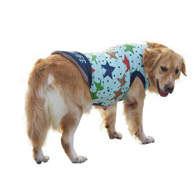 Pet Dog Star Pattern Jacket Clothes