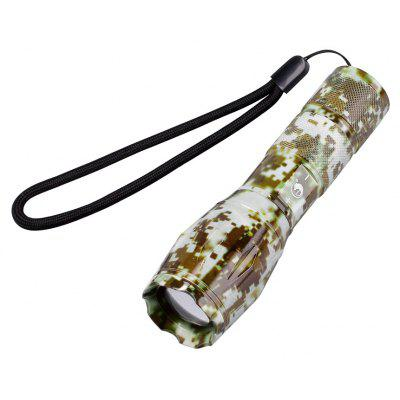 Buy LAWN UKing Xml T6 1000LM 5 Mode Zoomable Camouflage Flashlight Torch for $5.39 in GearBest store