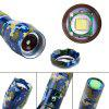 UKing Xml T6 1000LM 5 Mode Zoomable Camouflage Flashlight Torch - BLUE AND GREEN