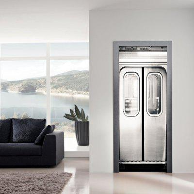 Lift Door Stickers Living Room Bedroom Elevator DecorWall Stickers<br>Lift Door Stickers Living Room Bedroom Elevator Decor<br><br>Brand: DSU<br>Color Scheme: Others<br>Effect Size (L x W): 77 x 200cm<br>Function: Decorative Wall Sticker<br>Material: Self-adhesive Plastic<br>Package Contents: 1 x Door Sticker<br>Package size (L x W x H): 43.00 x 3.50 x 3.50 cm / 16.93 x 1.38 x 1.38 inches<br>Package weight: 0.5500 kg<br>Product size (L x W x H): 200.00 x 77.00 x 0.01 cm / 78.74 x 30.31 x 0 inches<br>Product weight: 0.5000 kg<br>Quantity: 1<br>Subjects: Still Life<br>Suitable Space: Bedroom,Office,Hotel,Pathway,Kids Room,Study Room / Office,Boys Room,Girls Room,Game Room<br>Type: Plane Wall Sticker