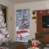 DSU Christmas Tree Pattern Wall Sticker - MIX COLOR