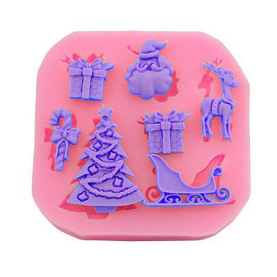 Macroart 2 Pieces Baking Tool DIY High Quality Christmas Cake Molds