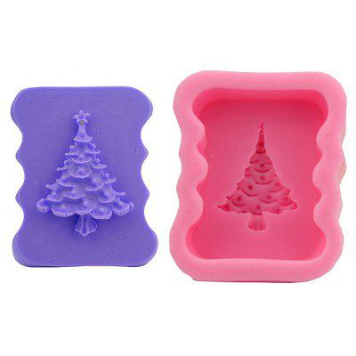 Macroart 2PCS Cake Molds Cooking Utensils Bread Chocolate Cake Silica Gel Baking Tool DIY Christmas Tree