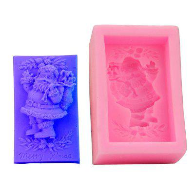 Macroart 2 Pieces Cake Molds Christmas Cooking Utensils Bread Chocolate Cake Silica Gel Baking Tool DIY